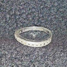 "Bradford Exchange Sterling Silver with Genuine Diamond ""Always"" Ring, Size 7 Bradford Exchange, Gold Rings, Jewelry Watches, Fine Jewelry, Rose Gold, Gemstones, Sterling Silver, Diamond, Ebay"