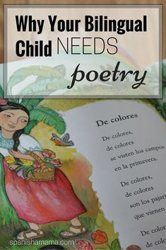 Why Your Bilingual Child Needs Poetry
