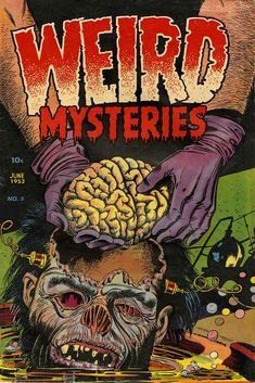 Cover by Basil Wolverton.