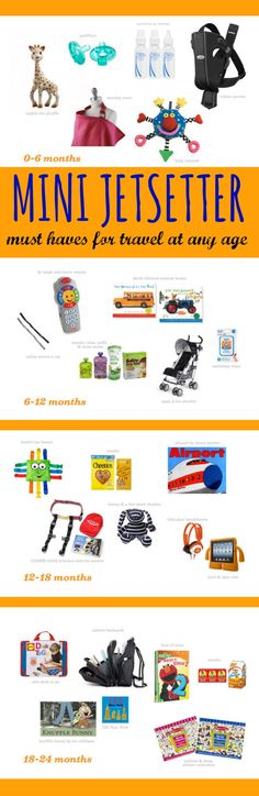 miniJetsetter: how to travel with a baby. All the must-haves for every age. | www.weespring.com