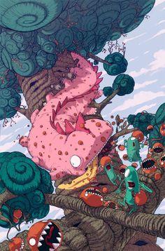 jonatan cantero illustrator illustration spain barcelona