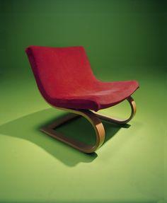 Scoop Chair Solid Teak Wood Moulded Fiberglass Beige Upholstered Retro Lounge Chair Danish Modern | Living Room | Pinterest | Mu2026 & Mid Century Modern R. Huber Co. Scoop Chair Solid Teak Wood Moulded ...