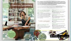 My interview with Diane von Furstenberg for 1st issue of Dabble Mag before I started writing the What's Trending column.