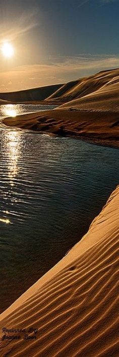 Dunes and lakes at sunset | Flickr - Photo Sharing! Santa Catarina Brasil