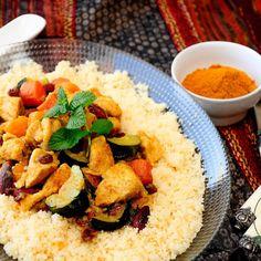 COUS-COUS DE POLLO EN THERMOMIX Y TRADICIONAL Pollo Chicken, Food N, Quinoa, Cornbread, Risotto, Grains, Rice, Cooking, Ethnic Recipes
