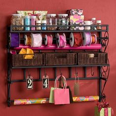 I pinned this Lynbar Wall Craft Rack from the Spring Cleaning Event event at Joss & Main!