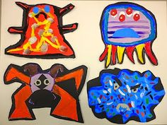 Thomas Elementary Art: 1st Grade GERMS!!!