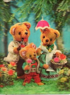Vintage Children's Books, Vintage Postcards, Vintage Art, Children's Book Illustration, Illustrations, 3 D, Vintage Magazine, Pretty Art, Graphic