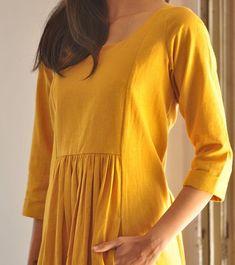 New embroidery dress boho bohemian tunics ideas Simple Kurti Designs, Salwar Designs, Kurta Designs Women, Kurti Designs Party Wear, Blouse Designs, Simple Dresses, Casual Dresses, Maxi Dresses, Awesome Dresses