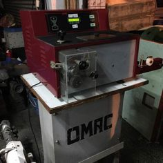 Second Hand OMRC Paintting Machine Shoemaking, Two Hands, Best Brand, Iron, Italy, Outdoor Decor, Italia, Shoe Crafts