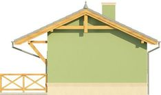 Elewacja KR DOMEK 1 CE Tiny House Design, Gazebo, Shed, Outdoor Structures, Kiosk, Pavilion, Miniature Houses, Tiny House Living, Cabana