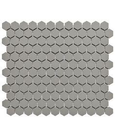 Shapes unglazed hexagon mosaic tile