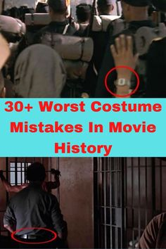 let's take a look at 50 movie mistakes that should have never made it onscreen.