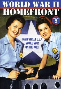 Containing vintage footage, WORLD WAR II HOMEFRONT is a fascinating documentary about the roles women played on American soil during wartime.