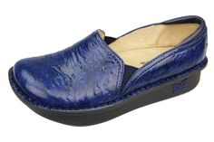 Alegria Shoes Debra in 'Navy Fleur' - now on Closeout at Alegria Shoe Shop