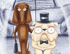 "Check out new work on my @Behance portfolio: ""Bulldog & dachshund"" http://be.net/gallery/60917989/Bulldog-dachshund"
