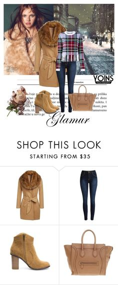 """""""Yoins 1"""" by aida-1999 ❤ liked on Polyvore featuring Avery, CÉLINE, Chloé, women's clothing, women, female, woman, misses, juniors and yoins"""