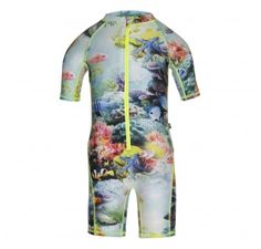 Molo Girls Nakia Coral Reef Swimsuit at Wellies and Worms