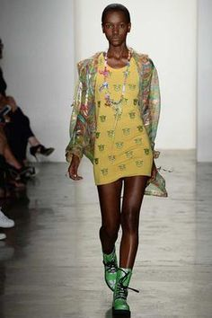 Jeremy Scott Spring 2015 Ready-to-Wear Fashion Show: Complete Collection - Style.com