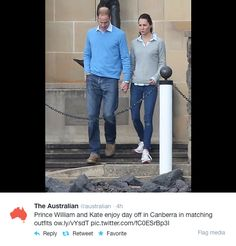 Kate: From Berkshire to Buckingham : Cambridges Spend a Family Day on the Grounds of Government House in Canberra