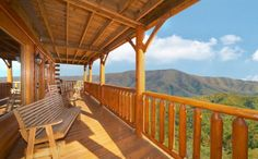 Cades Cove Castle is an 8 bedroom cabin with a view that will leave you in awe. Click here http://www.largecabinrentals.com/cabins/cades-cove-castle/