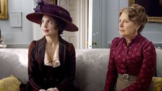 DowntonAbbeyS01E02_Cora_Isobel_dredpurple | Flickr - Photo Sharing!