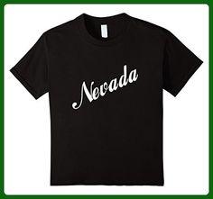 Kids Nevada NV Retro Vintage Souvenir T-shirt 6 Black - Retro shirts (*Amazon Partner-Link)