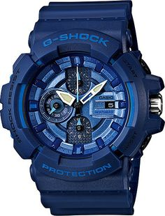 Mens G-Shock Blue and Red Series // GAC-100AC-2AJF // Free Shipping within Australia