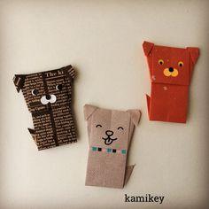 """いいね!471件、コメント31件 ― kamikey カミキィさん(@kamikey_origami)のInstagramアカウント: 「桃太郎のお供一号:イヌ来年は犬年なので、年末にまた活躍してもらう予定です^ ^ 「わんこ」の作り方動画はプロフィールにリンクがあるYouTube""""のkamikey origami…」"""