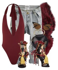 """""""Untitled #3734"""" by xirix ❤ liked on Polyvore featuring Charlotte Simone, OneTeaspoon, 3.1 Phillip Lim and Dsquared2"""