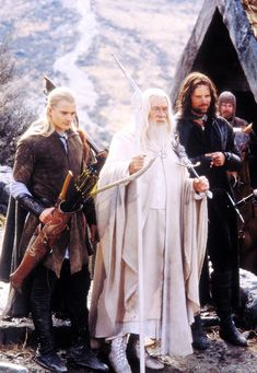 Legolas, Gandalf and Aragorn Thranduil, Legolas, Aragorn, Fellowship Of The Ring, Lord Of The Rings, Jackson, O Hobbit, The Two Towers, Architecture Tattoo