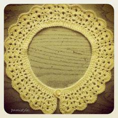 9 Besten Spitzenkragen Häkeln Bilder Auf Pinterest Crochet