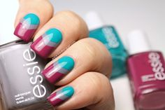 Iced Lacquer: Essie Spring 2015 Collection Nail Art