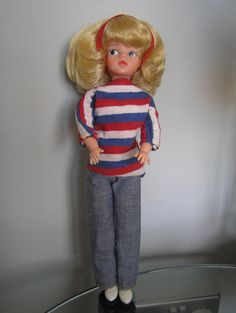 Vintage 1960's Blonde Sindy Doll by 1970Sindy on Etsy