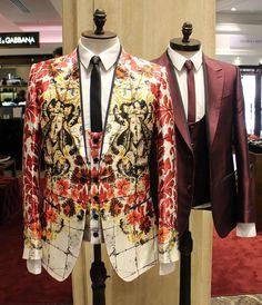 Add a statement print to your new season tailoring courtesy of #DolceandGabbana. #HarrodsMan (Ground Floor)