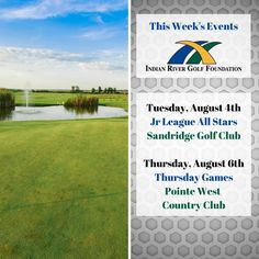 Take a look at this week's Indian River Golf Foundation events! Check our Facebook events page for details and updates. Golf Training, Training Center, Golf Now, Athletic Scholarships, Indian River County, Vero Beach Fl, Golf Lessons, Entry Level, After School