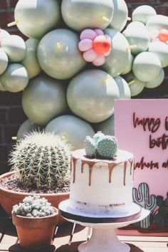A cactus-themed party is perfect for summertime! Use bright colors and festive vibes, and create a summer fiesta everyone will love. Add some tacos and some cocktails and you've got yourself a summer celebration. See more party ideas and share yours at CatchMyParty.com