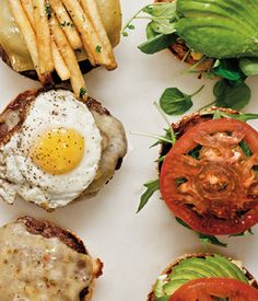 I love burgers.  Especially with a fried egg on it. But I love them without a fried egg too.  Just saying.