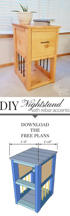Build a DIY nightsta