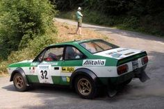 Lancia Beta Coupe Rally