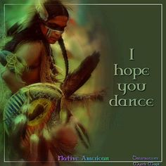 I hope you dance.