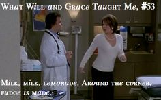 Will and Grace #funny #Karen #milk