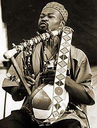 Ayub Ogada, Playing the Nyatiti. Kenyan Neo-Traditional Musician