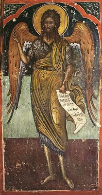 Miracle of the Precious Forerunner in Chios Chios, Byzantine Icons, Heart Of Jesus, Orthodox Christianity, John The Baptist, Orthodox Icons, Fresco, Saints, Community