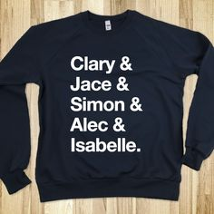 Clary - The Mortal Instruments Sweater I WANT THIS