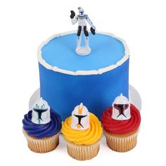 Star Wars Spoon Cake Topper and 24 Cupcake Topper Rings >>> Don't get left behind, see this great product : baking decorations
