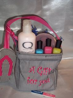 Thirty-One Little Carry-All-Caddy ... great to keep all you nail supplies handy. by lola