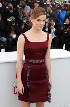 Emma Watson lors du photocall de The Bling Ring