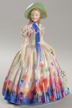 Royal Doulton Lady Figurine.