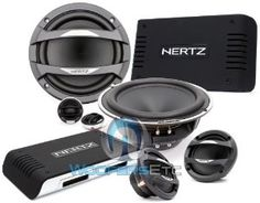 "MLK-3 PA - Hertz Component Speakers System (ML-1600 - Hertz 6.5"" 125W RMS Woofer + ML-700 - Hertz 2.75"" 100W Midrange Speakers + ML-280 - Hertz 28mm 180W Tweeters + MLCX-2-TM - Hertz 2-Way Mid High Passive Crossover Network) by Hertz. $1299.99. ML-1600.  6.5"" Neodymium REN Woofer with V-Cone /  Power Handling: 250 W Peak, 125 W Continuous /  Impedance: 4-Ohm /  Frequency Response: 40 - 7k Hz /  Sensitivity: 93 dB/SPL.  ML-700. 2-3/4"" Neodymium REN Midrange with V-Cone /  Power..."